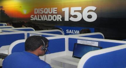 Disque Salvador 156 completa um ano com mais de 500 mil atendimentos